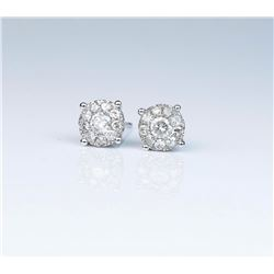 Striking Ladies Diamond Earrings