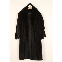 Beautiful Ladies Mink Trench Coat