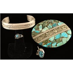 Collection of Native American Made Jewelry