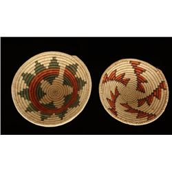 Lot of 2 Ethnic Baskets