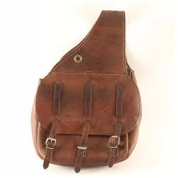 Quality Pair of Dunn Leather Saddlebags