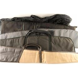 Lot of 5 Soft Rifle Cases