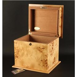 Beautiful Birds Eye Maple Humidor