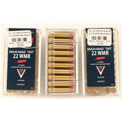 Lot of 22 Mag Ammo