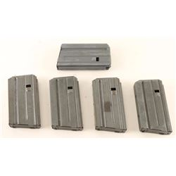 Lot of 5 Colt .223 Mags