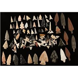 Large Arrowhead Collection