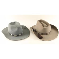 Lot of 2 Western Hats