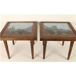 Tile Top Endtables