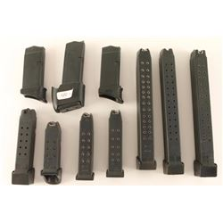 Lot of 10 Glock Magazines