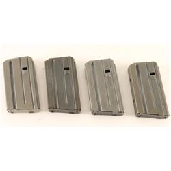 Lot of 4 Colt .223 Mags