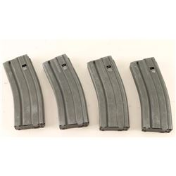 Lot of 4 Colt AR-15 Mags