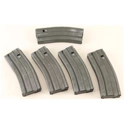 Lot of 5 Colt AR-15 Mags