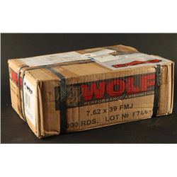 Wolf 7.62x39 FMJ 1000 Rds