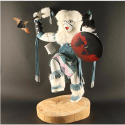 Wooden Kachina Dancer