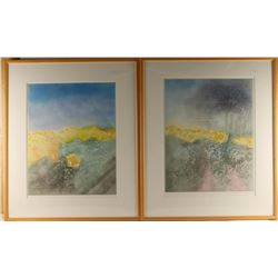 Collection of 2 Lithographs