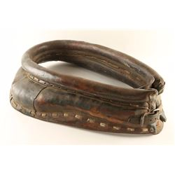 Vintage Leather Horse Collar