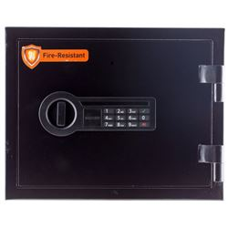 Stack-On  Eletric Security Safe Black
