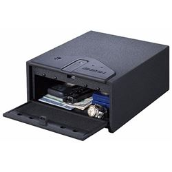 Stack-On QAS450B Quick Access Safe Biometric Lock 10 x 12.15 x 5.35 Black