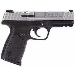 """Smith & Wesson 223400 SD VE Double 40 Smith & Wesson (S& W) 4"""" 14+1 Black Poly Grip/Frame SS"""