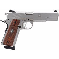 "Ruger 6700 SR1911 Single 45 Automatic Colt Pistol (ACP) 5"" 8+1 Hardwood Grip Stainless Steel"