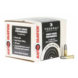 Federal Champion AutoMatch 22LR 40GR - 3250 Rounds