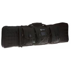 "Drago Gear 12-323BL Tactical Double Gun Case 42"" 600D Polyester Black"