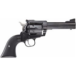 "Ruger 0446 Blackhawk Convertible Single 45 Automatic Colt Pistol (ACP) 4.6"" 6 Black Rubber Blued"