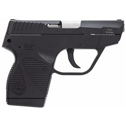 "Taurus 1738039BSS 738 TCP Double 380 Automatic Colt Pistol (ACP) 2.8"" 6+1 Black Polymer Grip/Frame G"
