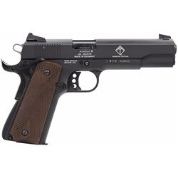"GSG GERG2210M 1911 22LR 5"" TB 10+1 Walnut Grip Black"