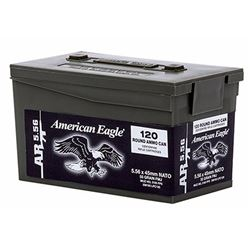 Federal AE 223Rem/5.56 NATO 55GR - 600Rounds