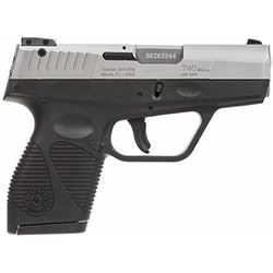"Taurus 1740039FS 740 Slim Single/Double 40 Smith & Wesson (S& W) 3.2"" 6+1 Black Polymer Grip Stainle"