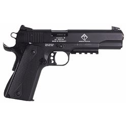 "GSG German Sports Guns 1911ADOP GSG-1911 Single 22 Long Rifle (LR) 5"" 10+1 Black Synthetic Grip Blac"