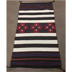 Chief's Pattern Navajo Rug by RG Sherman