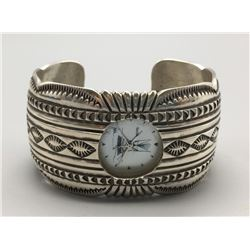 Navajo Sterling Silver Watch Cuff