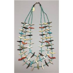 Very Fine Zuni Fetish Necklace