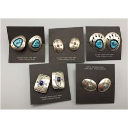 Group Of Navajo Cufflinks