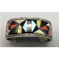 Zuni Inlay Bracelet - Don Dewa