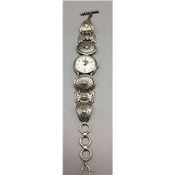 Sterling Silver Watch Bracelet
