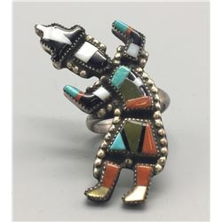 Zuni Rainbow Man Ring