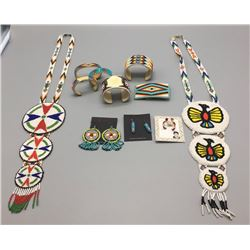 Group Of Miscellaneous Beadwork