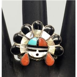 Zuni Inlay Ring - Laahte