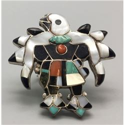Thunderbird Inlay Ring - Poncho