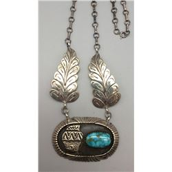Sterling Silver Navajo Necklace