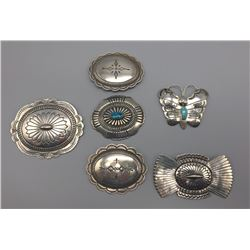 Group Of  6 Sterling Pins