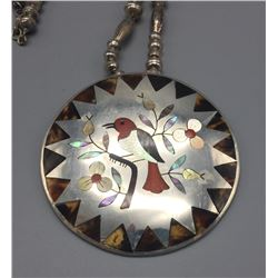 Zuni Inlay Necklace - Guardian