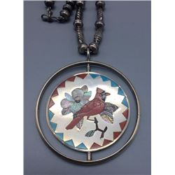 "Vintage Zuni ""Spinner"" Necklace - Banteah"