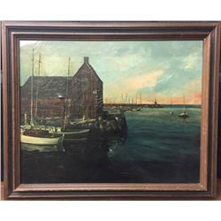 Original Vintage Oil Painting