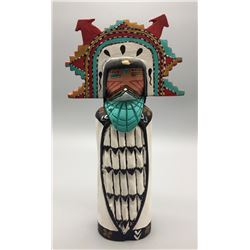 Navajo Wood Carving  - Vigil