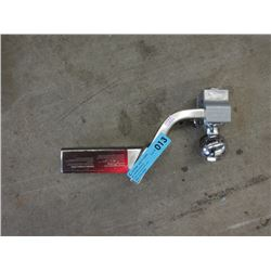 New Stainless Steel Hitch & Ball Attachment
