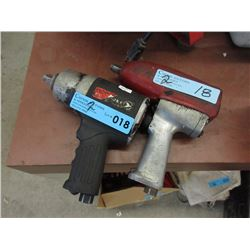 "2 Pneumatic 1/2"" Drive Air Impact Wrench"